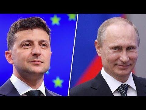 Путин и Зеленский прибывают в Елисейский дворец. Саммит в «нормандском формате»