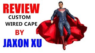 JAXON XU CUSTOM WIRED CAPE FOR HOT TOYS BvS SUPERMAN