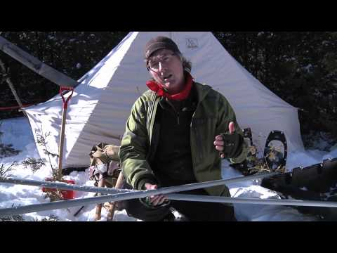 Winter Camping 101: the Happy Camper