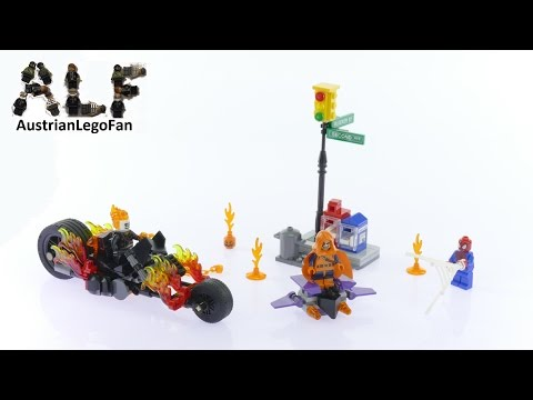 2016 Lego Super Heroes Spider Man Ghost Rider Team Up Instructions