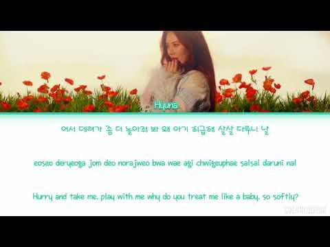HyunA 현아   Babe 베베 Color Coded Lyrics HANROMENG