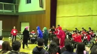 市南戦隊ブラバンジャー2015 市川南高校吹奏楽部