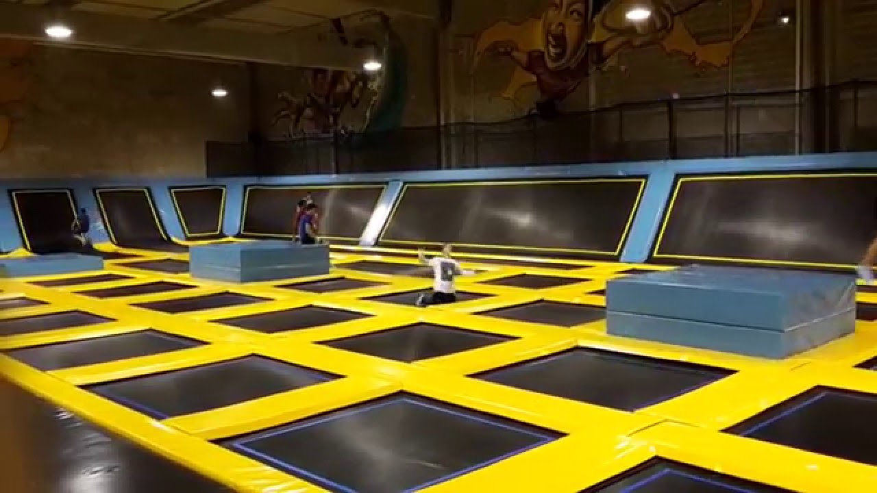 how to make a trampoline park