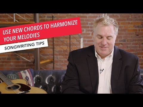 Quick Songwriting Tips: Use New Chords to Harmonize Your Melodies  | Tip 5/8 | Berklee Online
