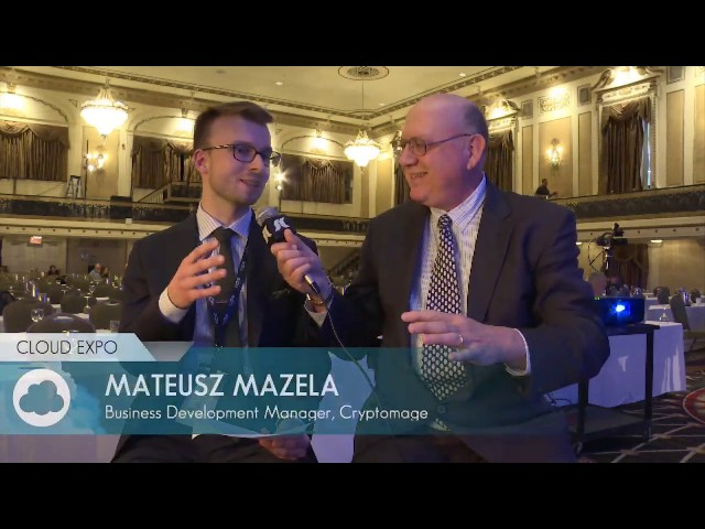 Interview with Mateusz Mazela (Cloud Expo Day 1 Interview: 1:45pm)