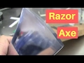 How to sharpen an axe razor sharp