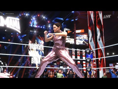 WWE 2K20 - Brooklyn Von Braun vs Rhea Ripley.