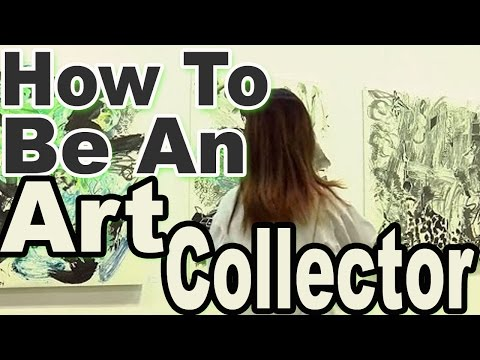 Five tips on how to be an art collector