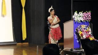 odishi dance perfomance on utkala divasa 2017 iit bombay