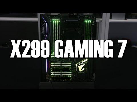 Gigabyte Aorus X299 Gaming 7 Preview