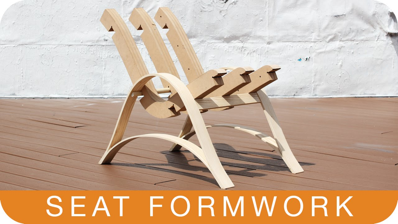 How To Make A Plywood Chair Toilet Accessories Episode 11 Seat Formwork Youtube