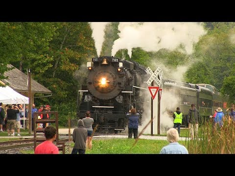 NKP 765 Steam In The Valley 2014