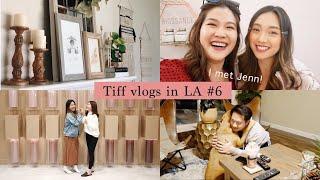 這週末換住哥哥嫂嫂家!我跟神秘嘉賓一起去見Jenn😍|Tiff vlogs in LA #6