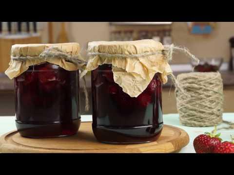Клубничное варенье с целыми ягодами - рецепт на зиму