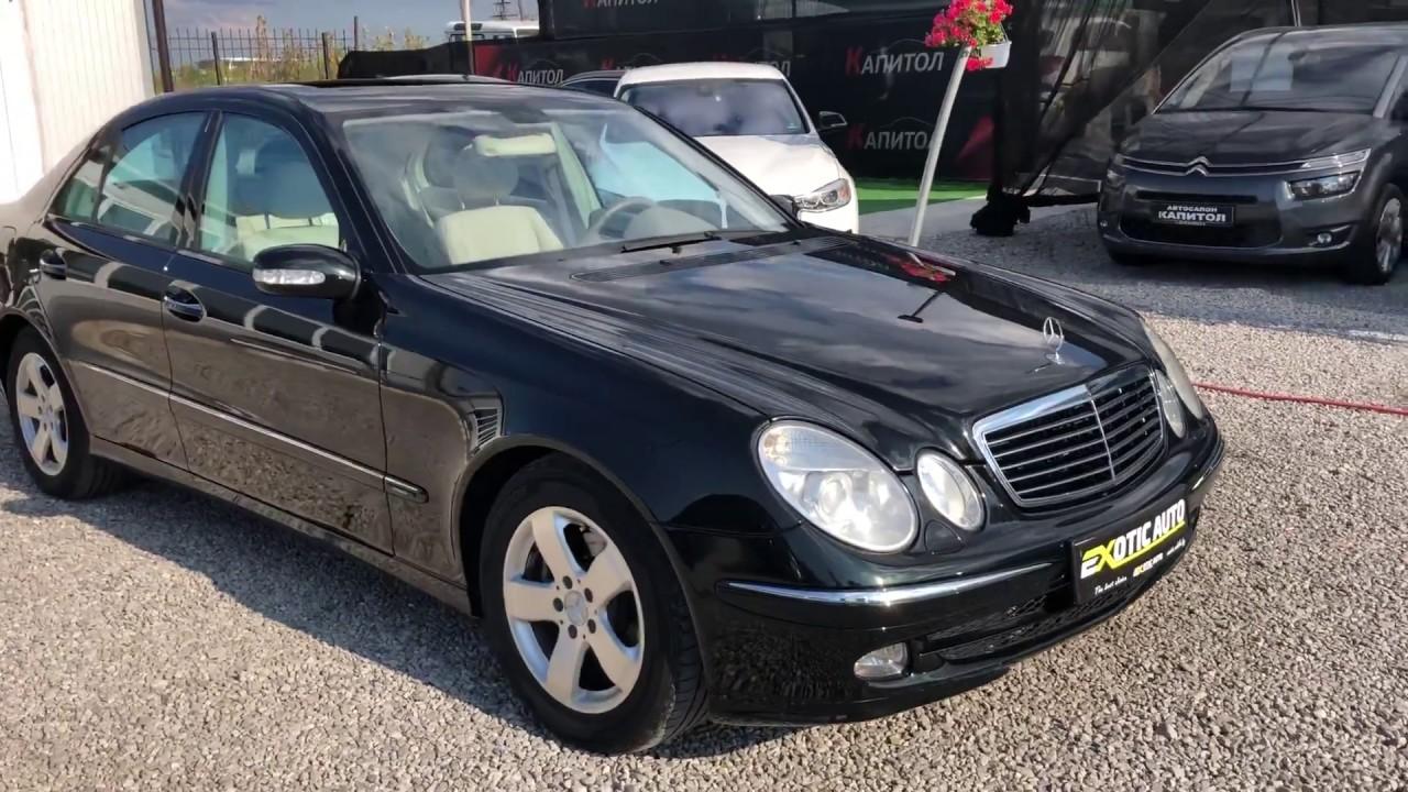 Mercedes-Benz E-Class W211 engine oil capacity, mercedes