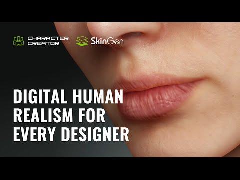Digital Human Realism for Every Designer -  Morph, Skin and Makeup  | Character Creator 3