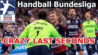Crazy goals and saves last seconds handball bundesliga