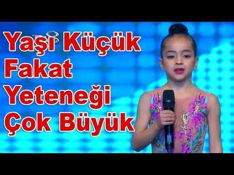 Minel Erhızlı Jimnastik Gösterisi İle İlgi Odağı Oldu! | Yetenek Sizsiniz Türkiye