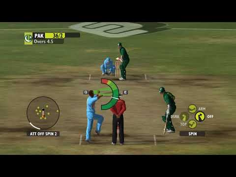 India Vs Pakistan   Ashes Cricket 2009