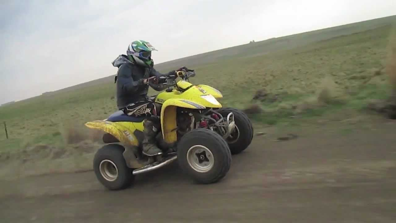 ltz 250 top speed - YouTube