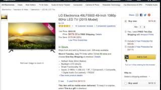 Best LG Electronics 49LF5500 49 Inch 1080p 60Hz LED TV