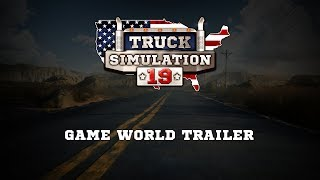 Truck Simulation 19 - Game World Trailer