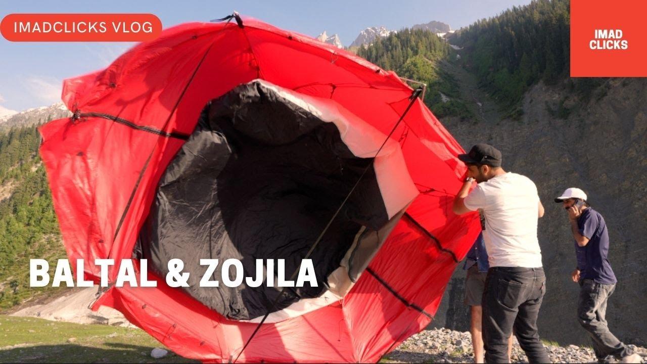 Camping Between Baltal Valley & Zojila Pass 🔥