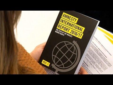 'A darker more unstable world' says Amnesty International