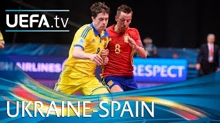 Futsal EURO Highlights: Watch Spain turn on style