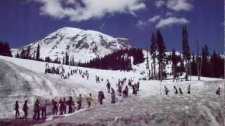 Mt Rainier National Park - Paradise Visitor Center -