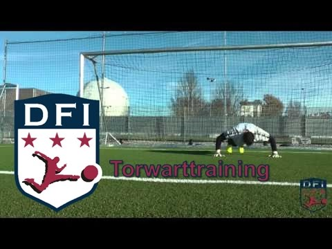 Torwarttraining am DFI