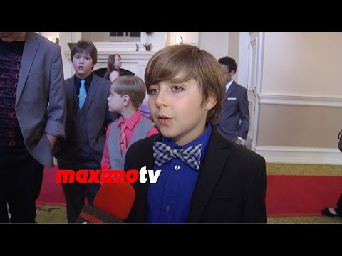 Christian Disteo  Young Artist Awards 2015 Red Carpet