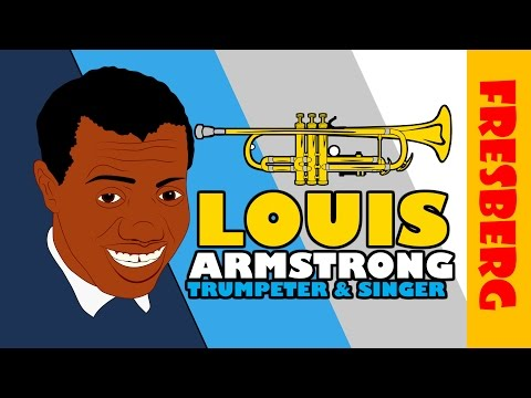 Celebrate Black History Month: Louis Armstrong Biography (Black History Educational Videos for Kids)
