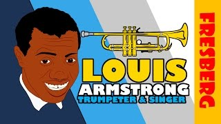 Celebrate Black History Month: Louis Armstrong Biography (Black History Educational Videos)