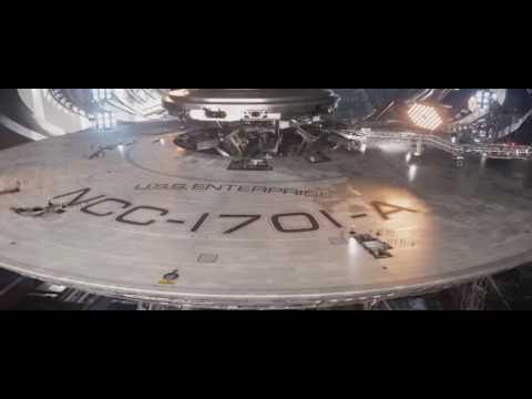 Star Trek Beyond: USS Enterprise 1701-A Construction Scene (end scene)
