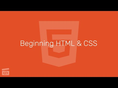 Beginning HTML & CSS Part 5: Semantic HTML