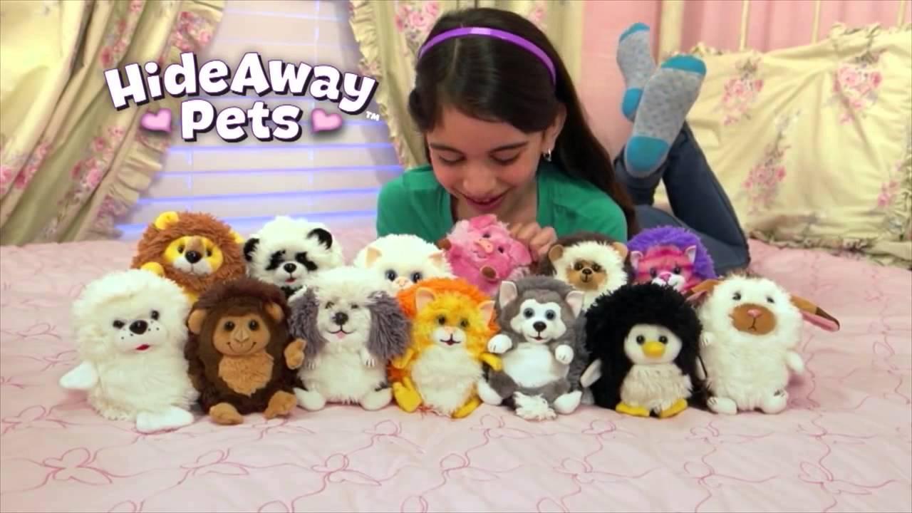 Zabawka Hide Away Pets Chowjace Sie Zwierzatka Reklama Pl Youtube