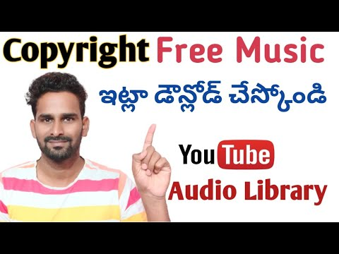 How to download free music from YouTube Audio Library  Copyright Free Music 