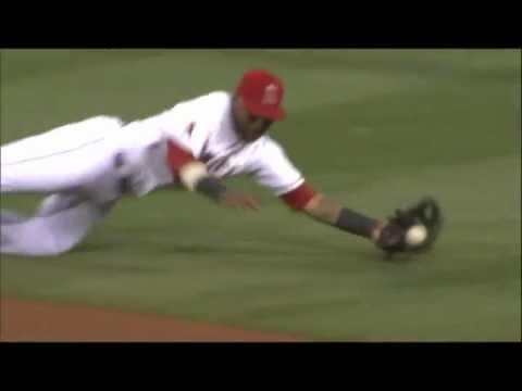 Las mejores jugadas defensivas de los dominicanos en la temporada 2012 de Grandes Ligas