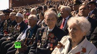 Россия отмечает 69-ю годовщину победы в Великой Отечественной войне