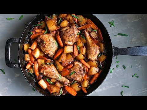 One-Pan Honey Garlic Chicken & Veggies | Episode 153
