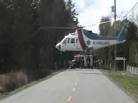 BC EMT Helicopter Takeoff Accident