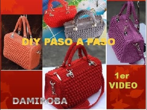 Video 1 Bolso Rojo Youtube Crochet wOukXlPZiT