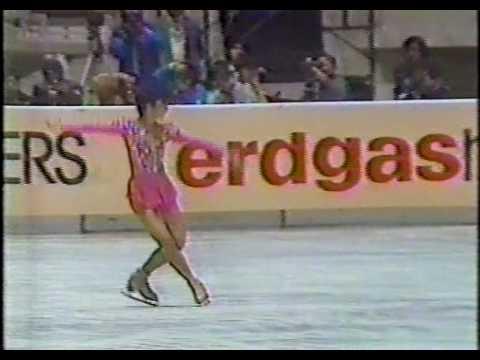 Tiffany Chin 陳婷婷 (USA) - 1985 World Figure Skating Championships, Ladies' Long Program