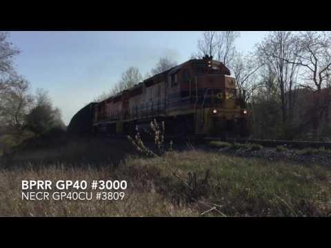 Railfanning Milton, Vermont - May 7-14, 2016