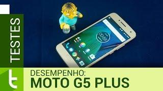 Desempenho do Moto G5 Plus | Teste de velocidade oficial do TudoCelular