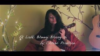 Ek ladki bheegi bhaagi si l Ukulele cover l Chhavi Pradhan