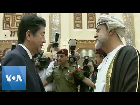 Japan PM Abe Meets New Sultan In Oman