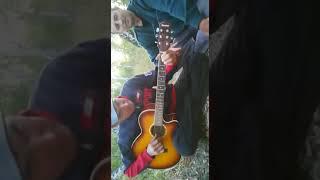 Песни под гитару Дуй осенний ветер я с тобой не спорю.