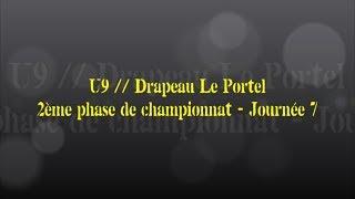 Retour sur le match... U9 // Drapeau Le Portel